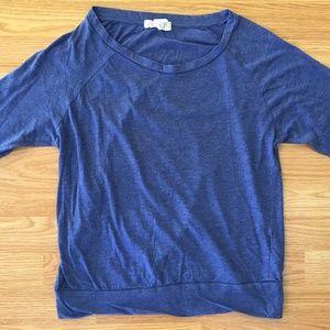 Forever 21 Blue Long Sleeve Tee **5 for $20**